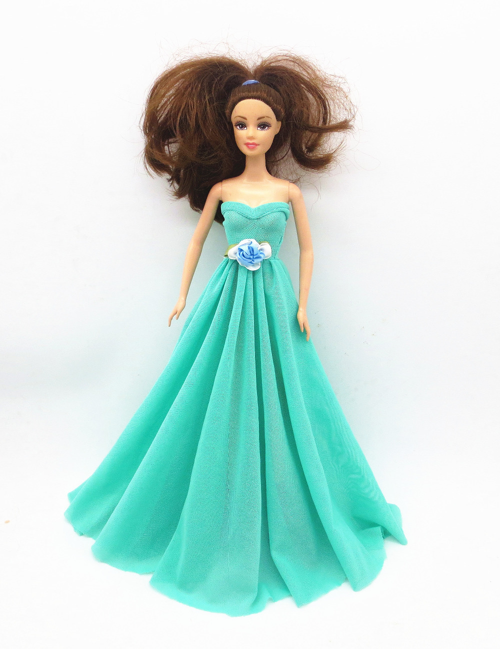 Where to buy christmas dresses - 2015 Handmade For Barbie Doll Clothes Dress The Best Christmas Gift Baby H496 China