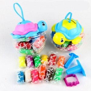 12 farben Polymer Plastilin Modellierung Ton Baby Kinder Kreative Handarbeit Spielzeug DIY Frühen Kindheit Kinder Wie Spielzeug Geeignet Heißer