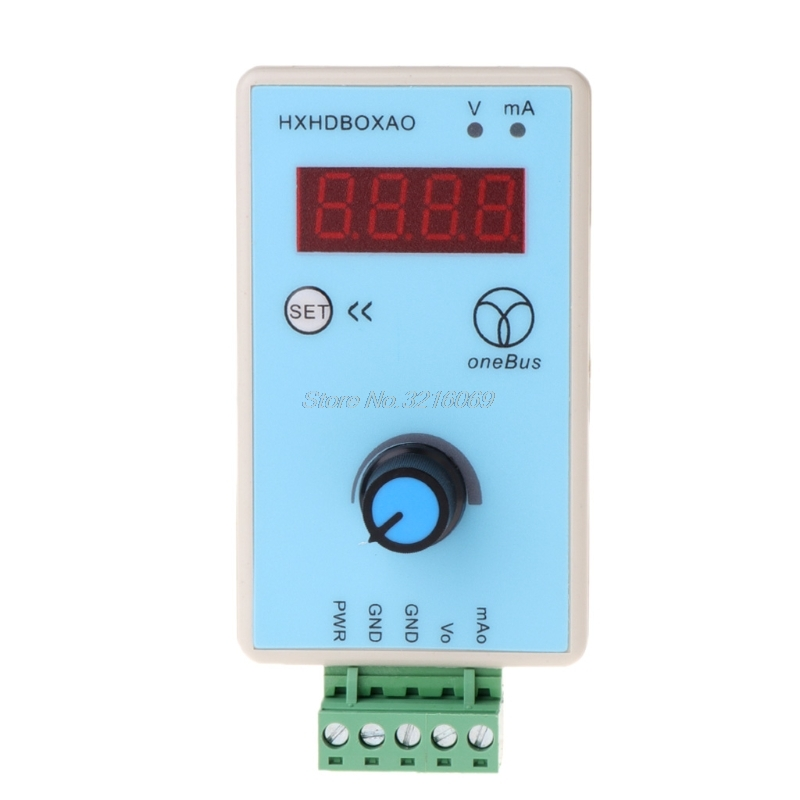 handheld Adjustable Current Voltage Analog Simulator 0-10V/2-10V 0-20mA/4-20mA Signal Generator signal sources output voltage to turn current 0 5v3 3v 10v to 4 20ma 0 20ma 1 5v to 4 20ma potentiometer tune