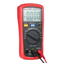 UT136B Multimeter LCD Digital Multimeter Voltage Current Meter NCV Capacitance Resistance Diode Tester Voltmeter Ammeter digital lcd multimeter 6000 counts mini multi meter voltmeter ohmmeter ac dc voltage current resistance capacitance meter tester