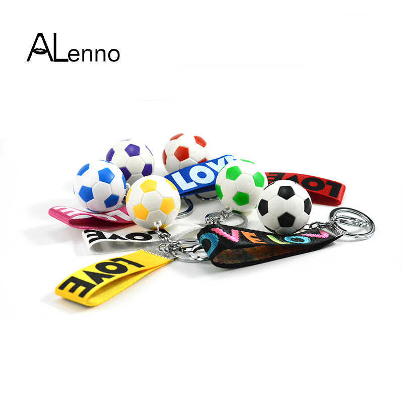 Casual Sporty Style Soccer Football Pvc Keychains For Men Women's Chain  Fans Accessories For Bags Pendant Suspension Trinket|Key Chains| -  AliExpress