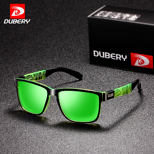 7423a32e3c DUBERY 2018 Sport Sunglasses Polarized For Men Sun Glasses Square Driving  Personality Color Mirror Luxury Brand