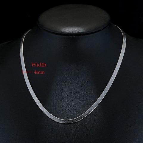 Ожерелье до ключицы из серебра 925 пробы в стиле панк