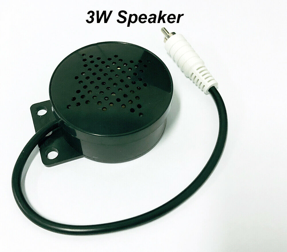 3W Waterproof Speaker AV Output Audio Out Without Amplifier Function Ip Camera