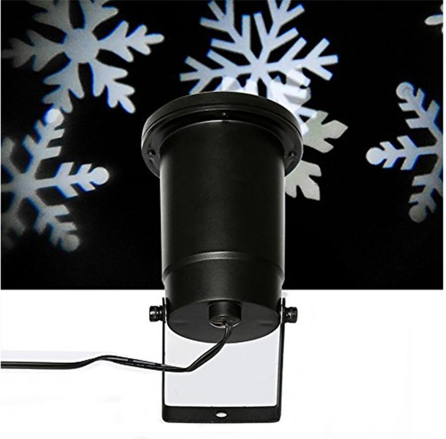 tanbaby лазерный проектор водонепроницаемый перемещение снег снежинка лазерный проектор rods новый год стадии светодиодный свет партии сад диджей по DMX