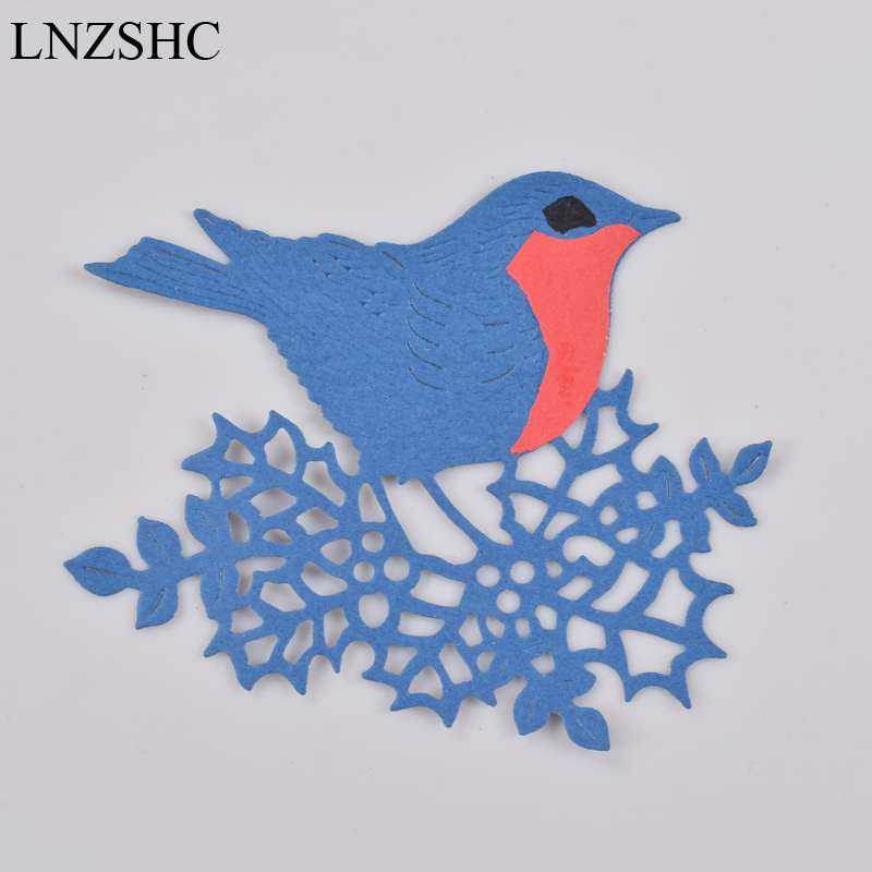 Bird on a branch metal die cut  Stencil Cutting dies Scrap booking Cards Crafts