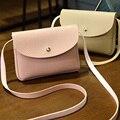 Женщины сумка Симпатичные Сердце сумка женщины ИСКУССТВЕННАЯ кожа небольшой сумки день клатчи Женщины Сумка маленькая мешок Freeship