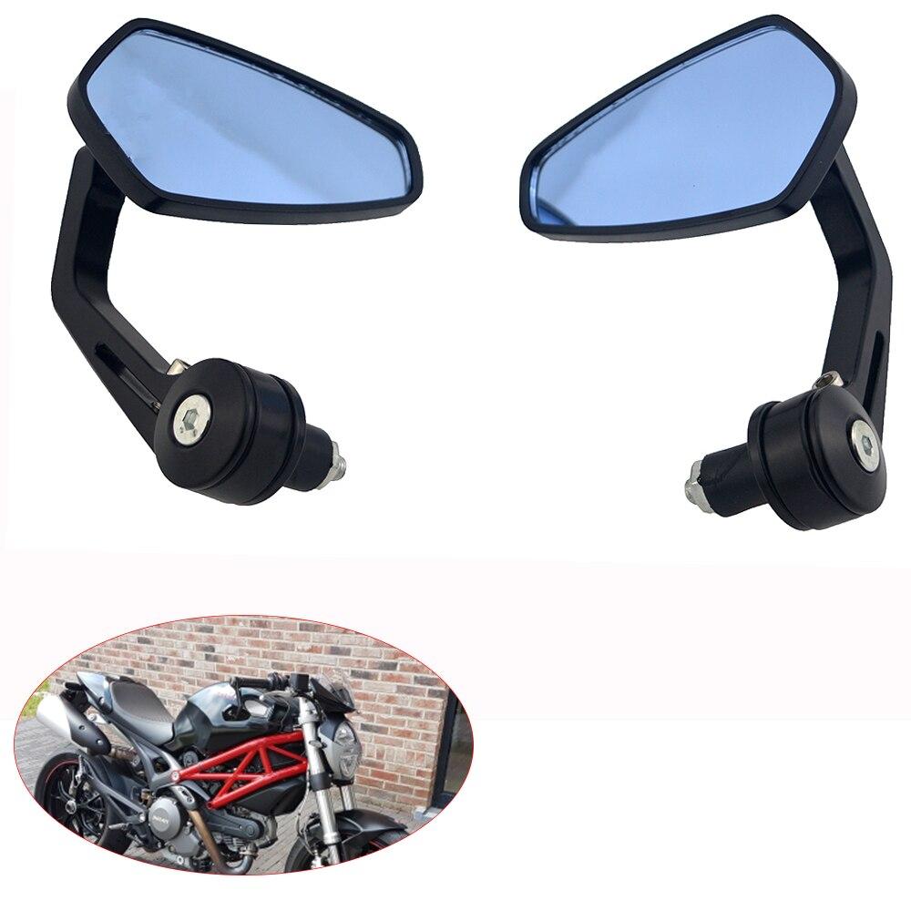 Chrome Skull Hand Skeleton Mini Side Rearview Mirror Motorcycle Street Naked Bike Cruiser Chopper Custom