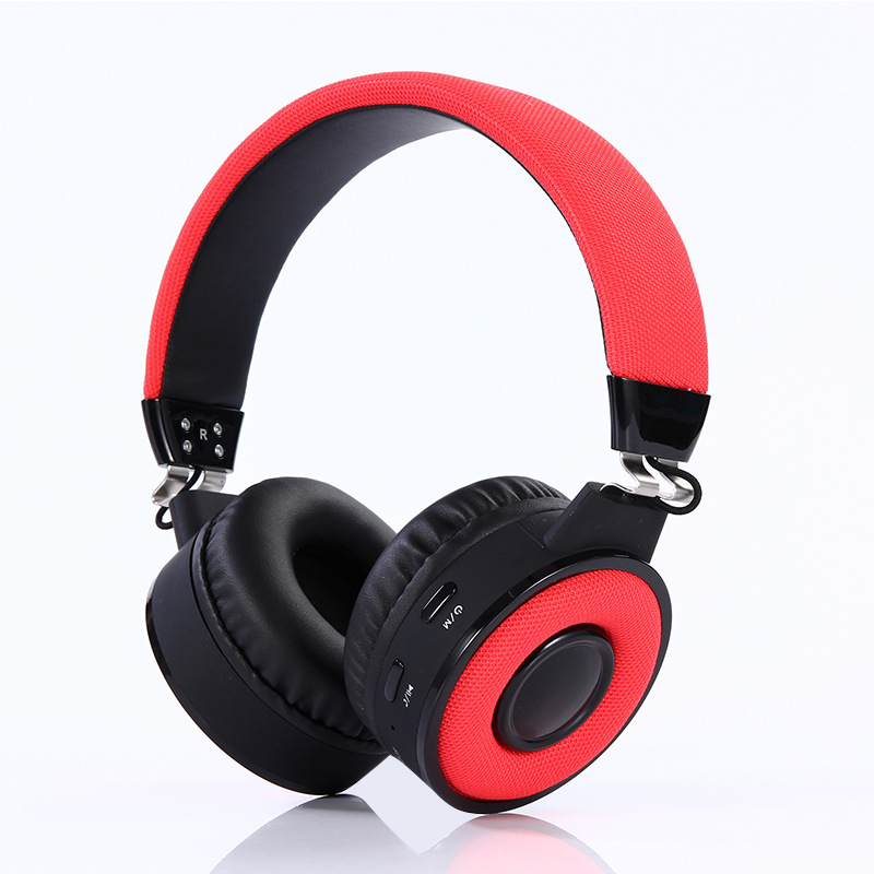 Stereo Bluetooth 4.2 Music Headset Fm Stereo Tf Card Pc Gamer Wireless Headphone with Microphone HST-BT018