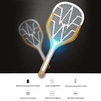 USB Charging LED Electric Mosquito Swatter Zapper Racket Insects Bug Insect Repeller Reject Killers Pest Bug Fly Mosquito Tools