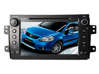 Android 6.0 16GB ROM quad core PX3 android car dvd fit for SUZUKI sx4 2006-2012 bluetooth radio gps wifi dvr map 3G