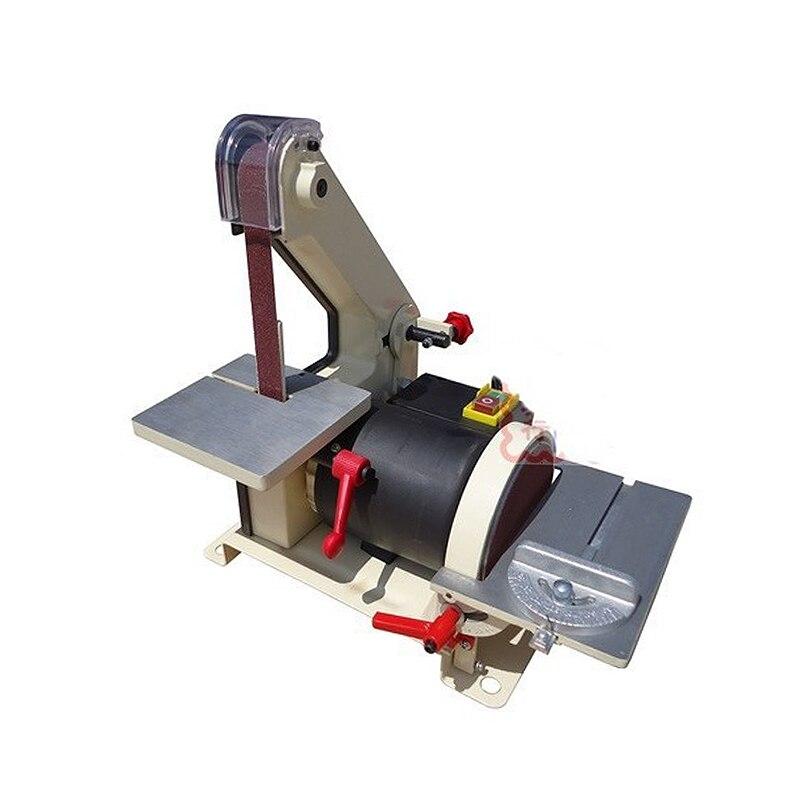 Russia tax-free shipping 25*762mm JS0013 electronic Belt Sander polishing machine Vertical Grinder vertical type abrasive belt sander polishing grinding small bench 915 belt machine q10029