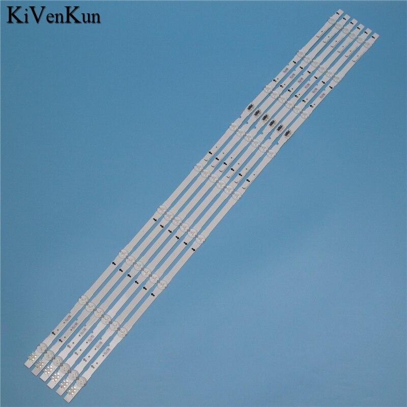 9 Lamps LED Backlight Strip For Samsung UE48H5500AK UE48H5500AW UE48H5270AU UE48H5500AY UE48H5510AK Bars Kit Television LED Band