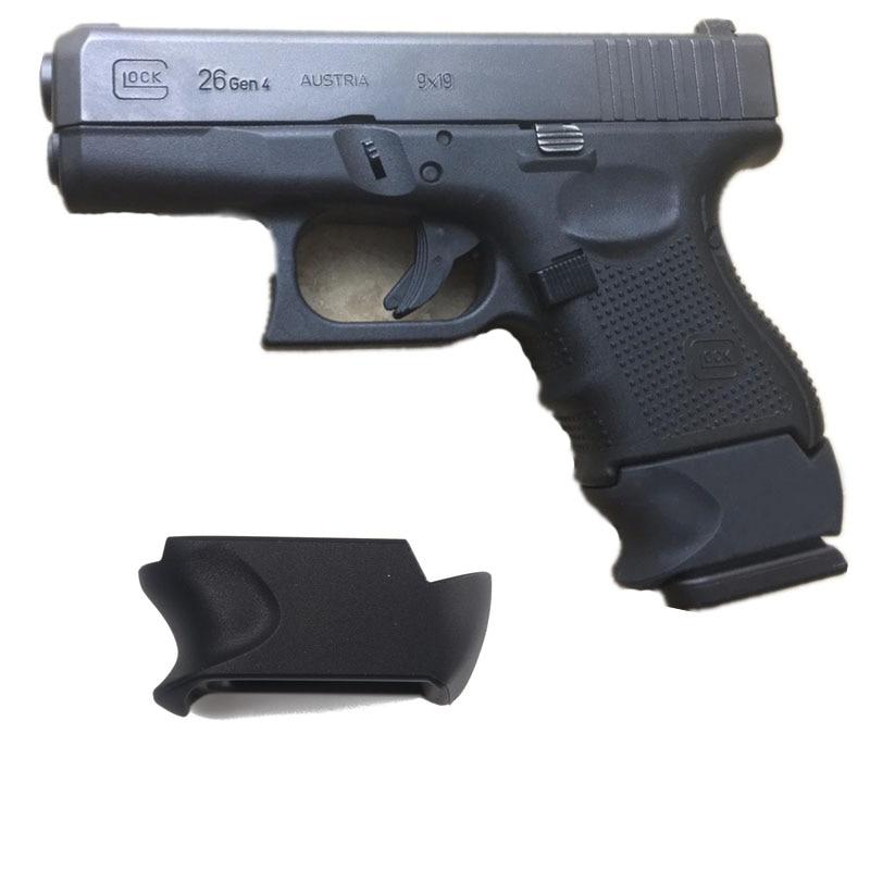 Magazine Adapter Sleeve Grip For Glock 26 27C Use G19 G23 G32 Mag In Glock G 26 G27 G33 6 8 9  10 Rounds RDS Gen 3 GEN 4