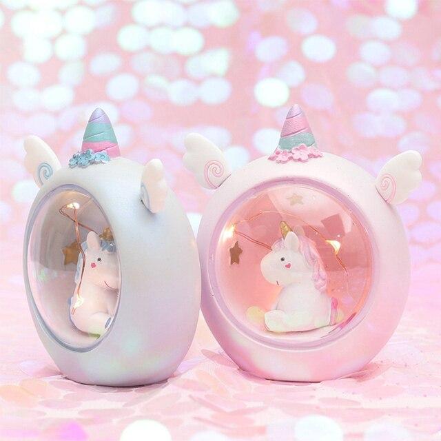 Mini Unicorn Night Light Home Decoration 5