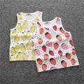 Novetly Cartoon Children T Shirts Boys Kids Vest Teen Clothing For Boys Baby Clothing Girls Unisex Fashion Fruits Vest