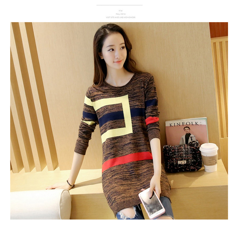 18 DRL sweater women Basic woman sweater pullovers long sleeve Jumper Long Sleeve Sweaters Autumn Winter pull femme hiver 18