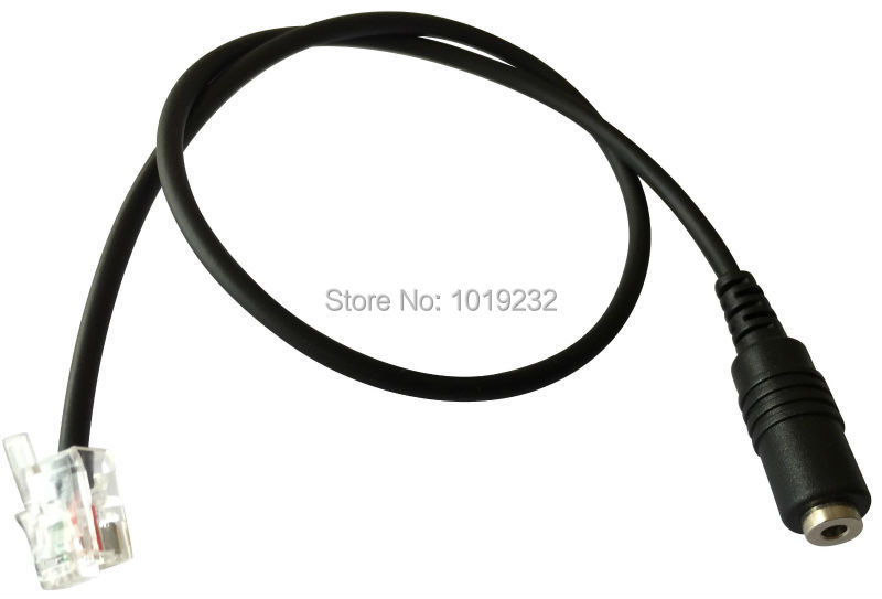 Free Shipping 2 5mm Headset Adaptor Cables 2 5mm Jack To Rj9 Connector For Telephone Headset Rj9 To 2 5mm Adapter For Notel Headset Keyboard Headset Bluetoothheadset Aliexpress