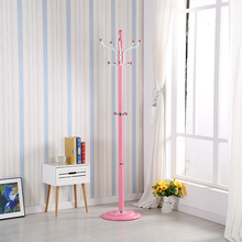 The Floor Coat Rack Hanger The Bedroom Clothes Rack Simple Fashion Iron  Hanger(China)