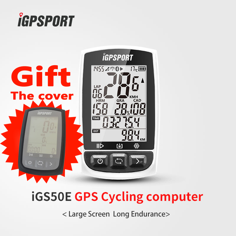 iGPSPORT Super large capacity 48h long endurance iGS50E electric bike speedometer