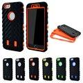 Para el iphone 5s case case coque de neumáticos de silicona para iphone 7 case para el iphone se 6 6 s 7 plus cubierta de plástico duro resistente armadura
