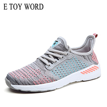E TOY WORD Women Shoes Soft Foundation Outdoor Breathable Sneakers Platform ladies Walking casual shoes