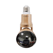 New Style Bulb Camera IB-175WM Home Security WIFI Camera APP Remote Control P2P IR LED Light Bulb Camera Supprot 32GB SD Storage