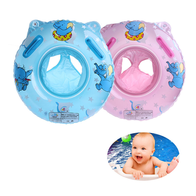 Kids Baby  Lovely Soft Seat Swimming Swim Ring Pool Aid Trainer Beach Float Inflatable Toy Float Seat Swim Ring