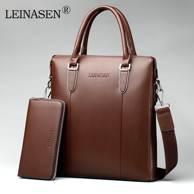 2017 Men Computer Laptop Handbag Men's Travel Bags Casual Briefcase Business Shoulder Leather Messenger Bags Office Bag 30 2016 men casual briefcase business shoulder bag leather messenger bags computer laptop handbag bag men s travel bags two colors