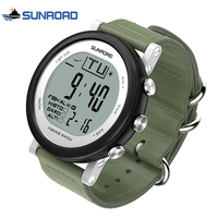 Reloj Hombre Men Digital Watch Fishing Barometer Altimeter Thermometer Altitude Military Sport LED Wristwatch For Men
