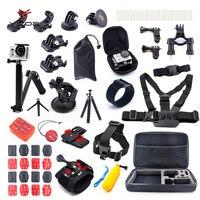 Go Pro Session Kit Case Tripod 360 Rotation Wrist Strap Kite Mount Helmet For Gopro SJCAM