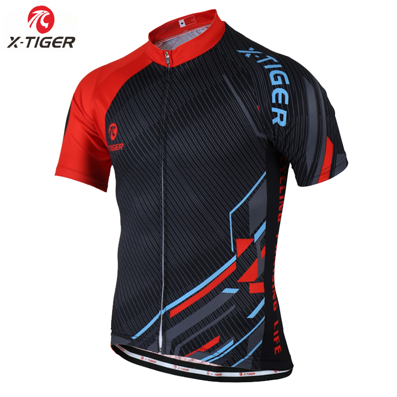X-TIGER 2017 Breathable Pro Cycling Jersey Summer MTB Bike Clothes Short  Sleeve Bicycle Clothing 31e74a252