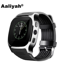 Aaliyah T8 Bluetooth Smart Watch With Camera Facebook Whatsapp Support SIM TF Card Call Smartwatch For