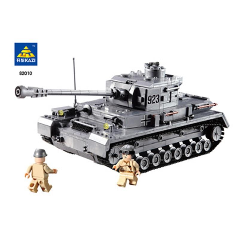 ФОТО KAZI 84010 Building Blocks Toy Engineering Field Force Tank Model Action Figure Toys Children Educational juguetes