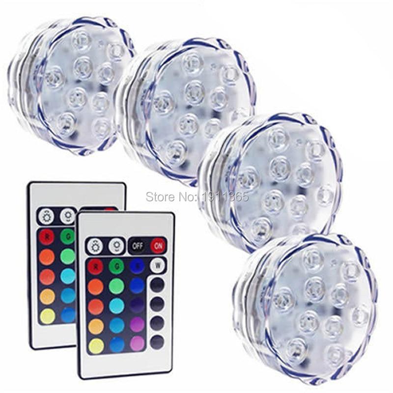 4x kawalan jauh tenggelam membawa bunga lampu perkahwinan parti - Pencahayaan perayaan - Foto 1