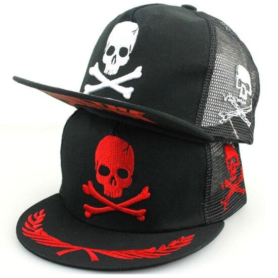 fcea5e52d3a Hip Hop Skull Raiders Cap Flat Brim Baseball Caps For Men Women Casual  Trucker Hat Outdoor Snapback Hats Sun Hat Visor H6054-in Baseball Caps from  Apparel ...