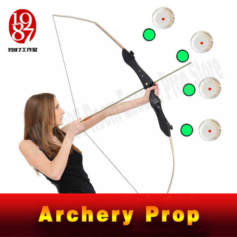 Escape Room Game Prop Archery Organ Archery Prop Adventure Game Puzzle Shoot To Target To Unlock From JXKJ1987 Real Life Game