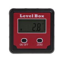 Цифровой Инклинометр Spirit Level Box транспортир Angle Finder Gauge Meter Bevel