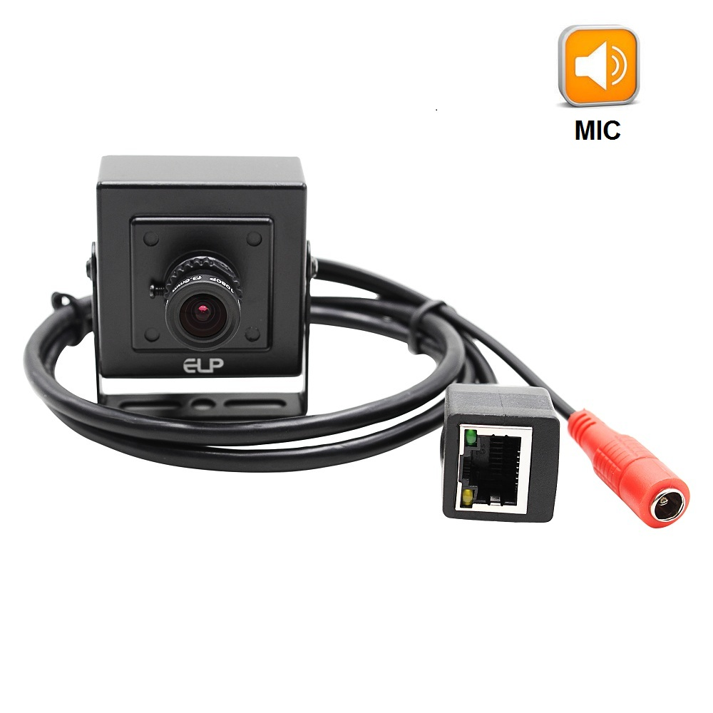 Audio Mini Type HD 1280 x 720P 1.0MP IP Camera Metal Indoor Security Camera ONVIF P2P IP CCTV Cam With Audio microphone
