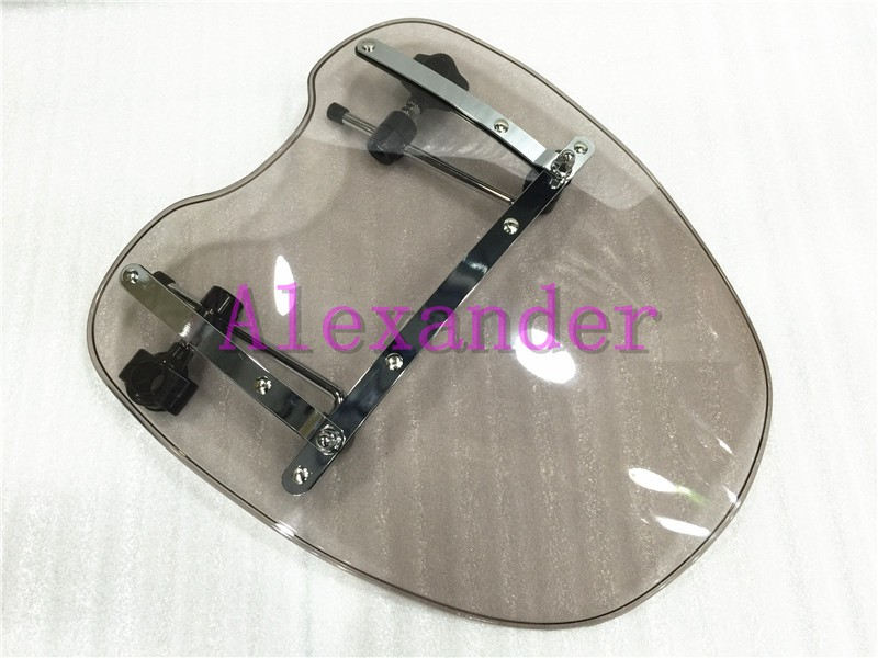 New For Yamaha Cruisers & Standards Models As V-Max VMax 1200 V Star 650 Custom Stryker Moto Windscreen Windshield 1969-2015 недорго, оригинальная цена