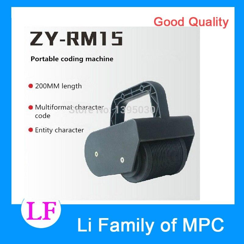 все цены на  1pc ZY-RM15 portable Stamping Machine portable coding machine Roll printing machine  онлайн