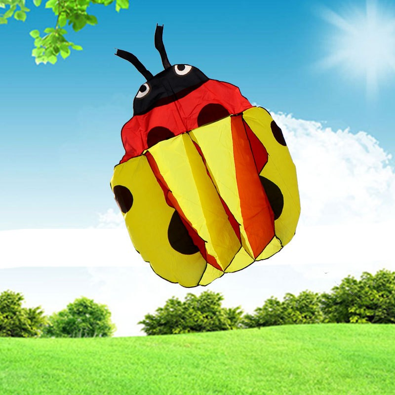 140Cm-Ladybug-Single-Line-Stunt-Software-Power-Kite-Inflatable-And-Easy-To-Fly-TD0082 (2)