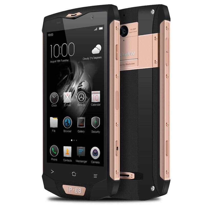 bilder für Blackview BV8000 Pro IP68 Wasserdichte handy 5,0 zoll MTK6757 Octa Core Android 7.0 6 GB RAM 64 GB ROM 16MP Wifi GPS telefon