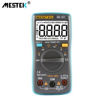 MESTEK MT101 MT102 Digital Multimeter DC AC Voltage Current Meter Resistance Diode Capacitance Tester Multimetro Diagnostic-tool