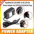 Qualified AC 110-240V To DC 12V 2A Switch Power Supply Adapter For CCTV,EU/US/UK/AU Plug