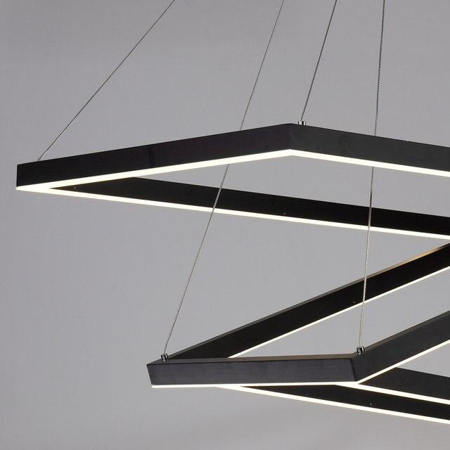 Online Shop Scatola rettangolare moderno led lampade a sospensione ...
