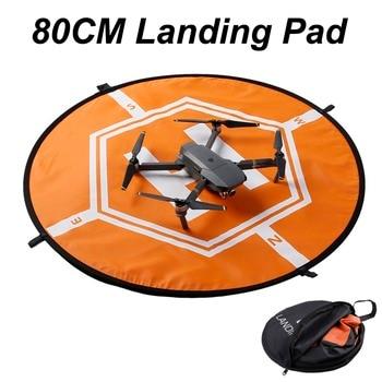 80CM Landing Pad Parking Apron Helipad For DJI Mavic Pro air Spark phantom 3 4 PRO Inspire 1 Yuneec Q500 Drone Folding Tarmac drone helipad