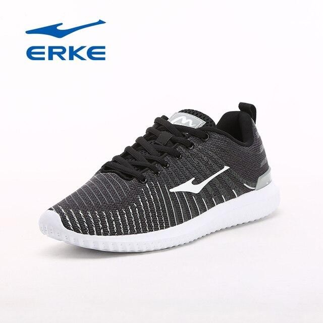 Ерке человека Кроссовки супер легкий Спортивная обувь Для мужчин дышащие кроссовки тренажерный зал Обувь Открытый Спортивные Кроссовки Для мужчин 2017