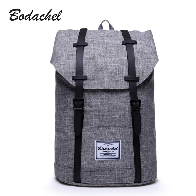 Bodachel Backpack Men High Quality Male Backpack School Bags Large Capacity Bagpack Notebook Backpacks Waterproof Oxford