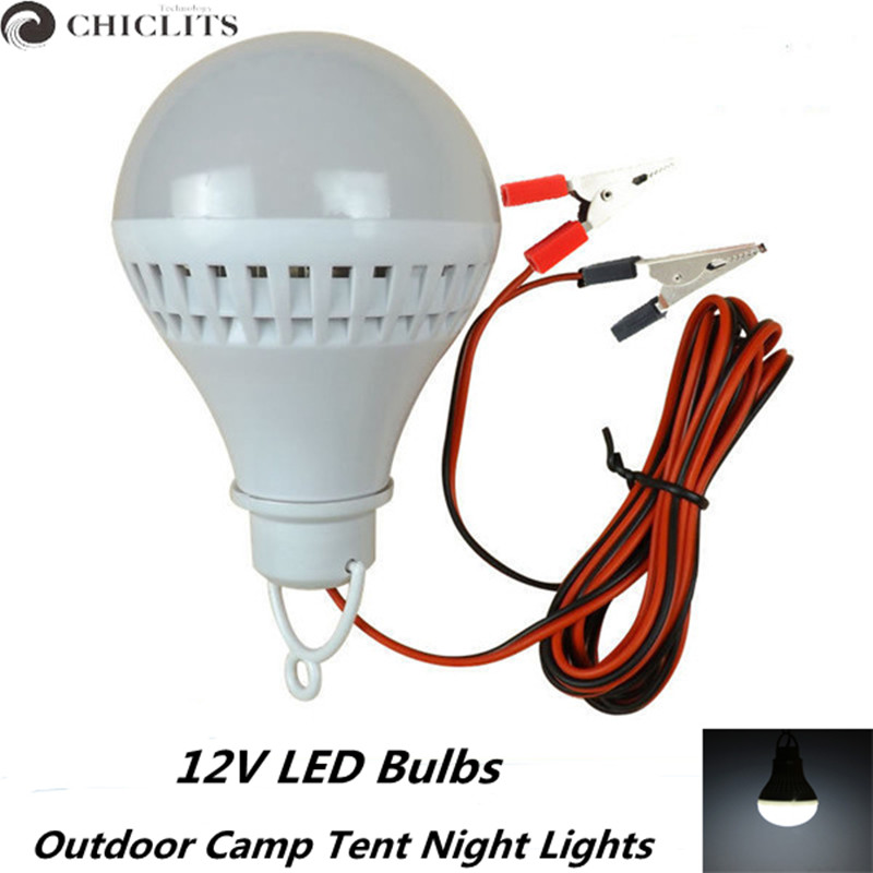 12V Led Bulb 5W 7W 9W 12W Portable Led Lamp SMD 5730 Outdoor Camp Tent Night Fishing Hanging Light Lamparas Energy Saving Lamp